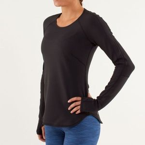 LULULEMON Runder Under LS Reversible Top {F42}